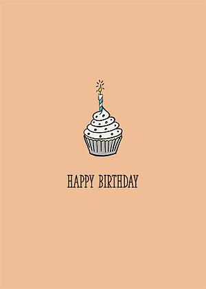 Cupcake - Happy Birthday
