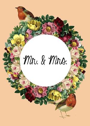 Mr. & Mrs. - Lovebirds