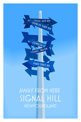 Away From Here - Signal Hill - Newfoundland