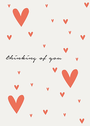 Thinking of You - Hearts