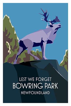 Lest We Forget - Bowring Park - Newfoundland