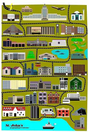 Mid-Century Modern - Cityscape