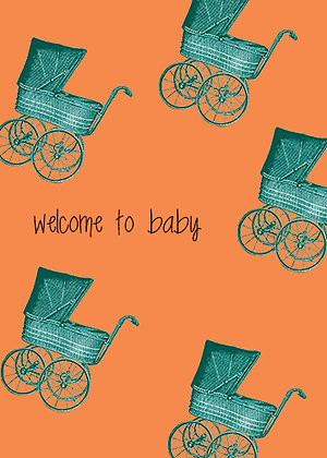 Welcome To Baby - Baby Carriages