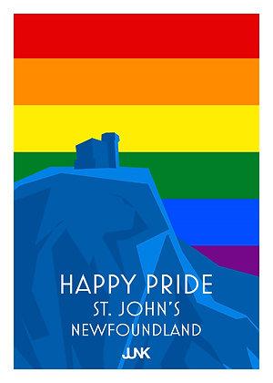 Happy Pride - Signal Hill