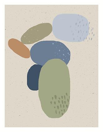 Beach Rocks - One
