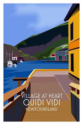 Village At Heart - Quidi Vidi - Newfoundland
