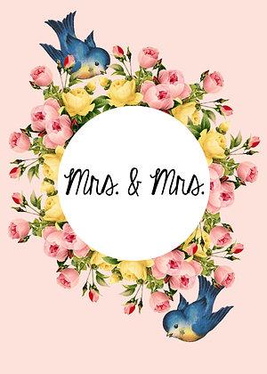Mrs. & Mrs. - Lovebirds