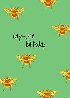 Hap-Bee Birthday - Bees