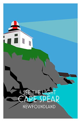 See The Light - Cape Spear - Newfoundland