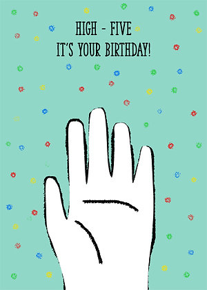 High-Five...It's Your Birthday!