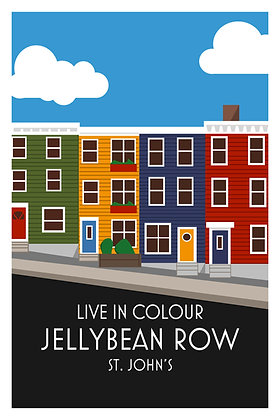 Live In Colour - Jellybean Row - St. John's
