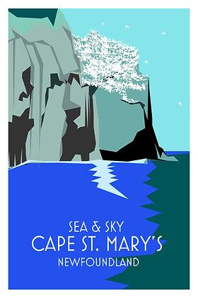 Sea & Sky - Cape St. Mary's - Newfoundland
