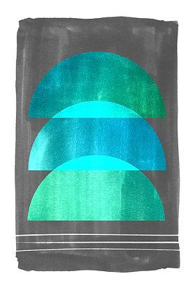 Three Halves - Teal