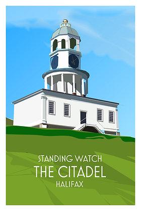 Standing Watch - The Citadel - Halifax