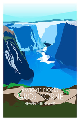Navigate Fjords - Gros Morne - Newfoundland