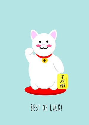 Smiley Lucky Cat