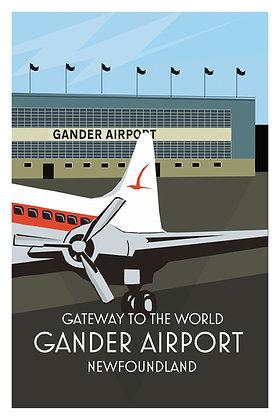 Gateway To The World - Gander Airport - Newfoundland