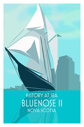 History At Sea - Bluenose II - Nova Scotia