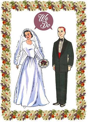 Bride and Groom - We Do