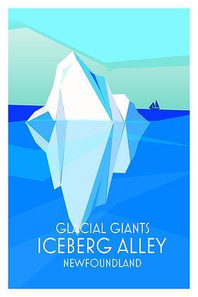 Glacial Giants - Iceberg Alley - Newfoundland