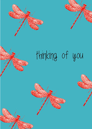 Thinking Of You - Dragonflies