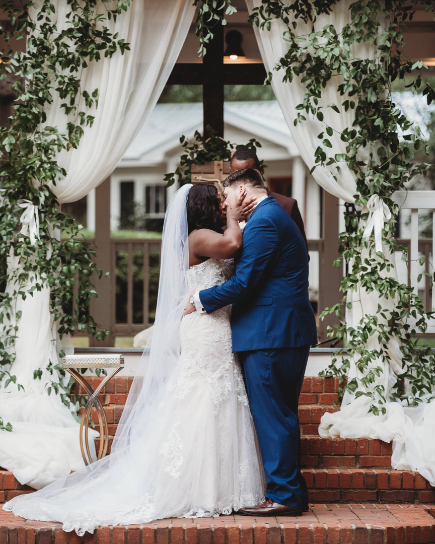 Payne-Corley House Garden Wedding