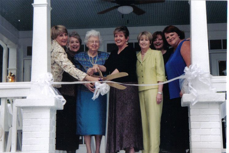 Grand Opening of The Payne-Corley House