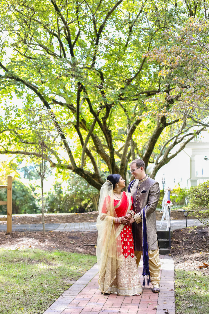Payne-Corley House Fall Wedding
