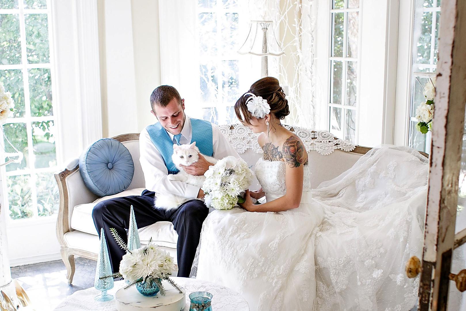 Payne-Corley House Winter Wedding