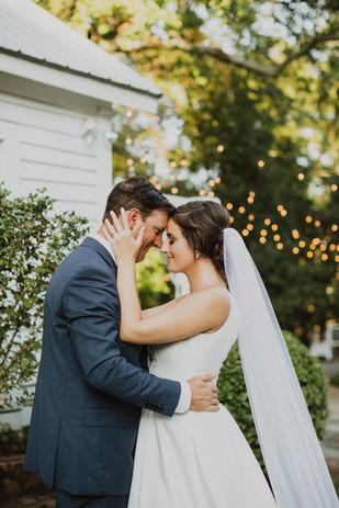 Payne-Corley House Outdoor Wedding