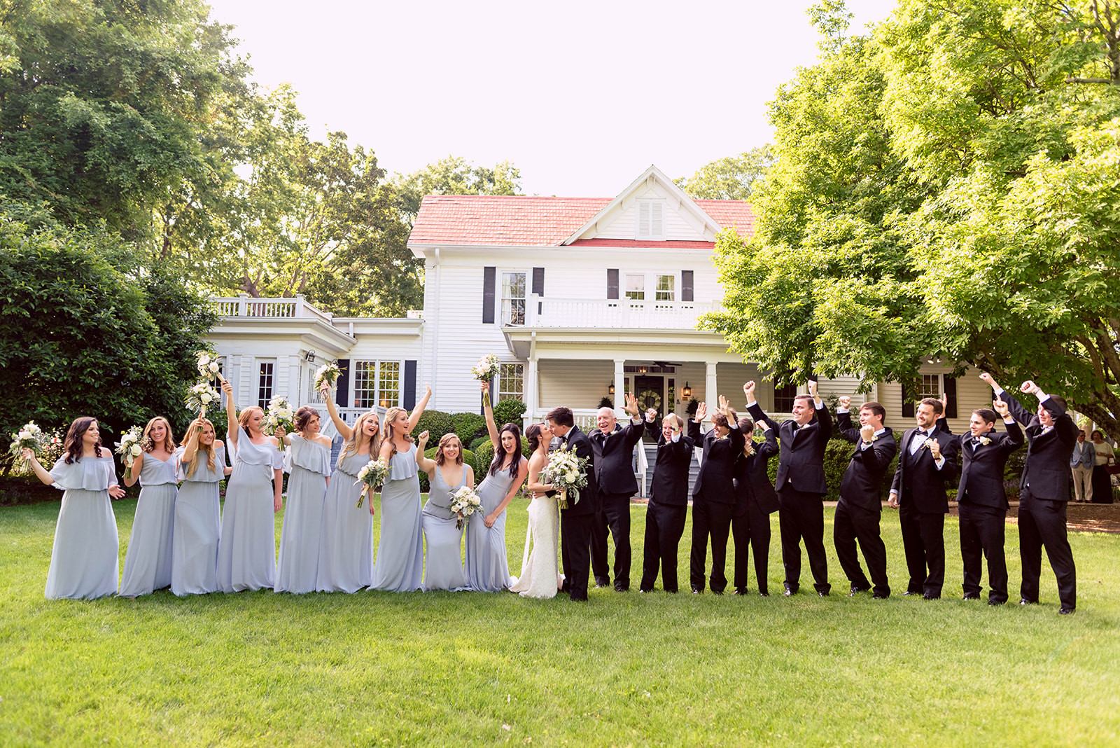 Payne-Corley House Spring Wedding