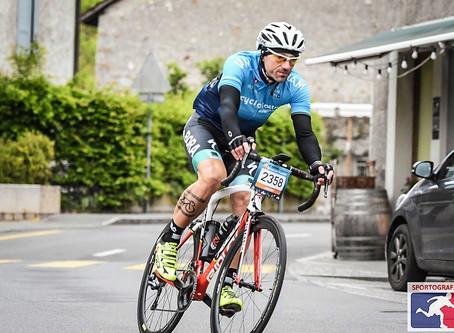 Jhonny au cyclotour du Leman