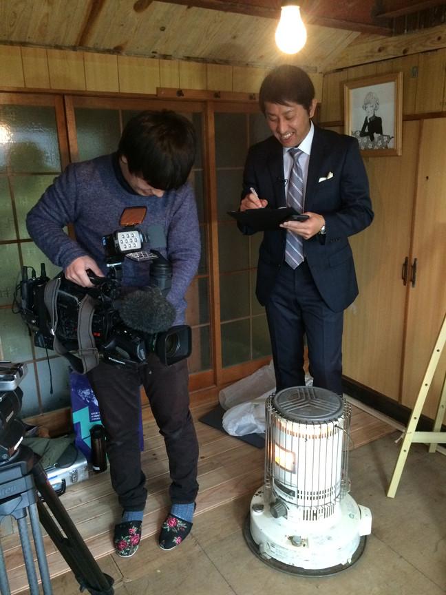 〈1月13日(金)放送〉日本海テレビの取材を受けました