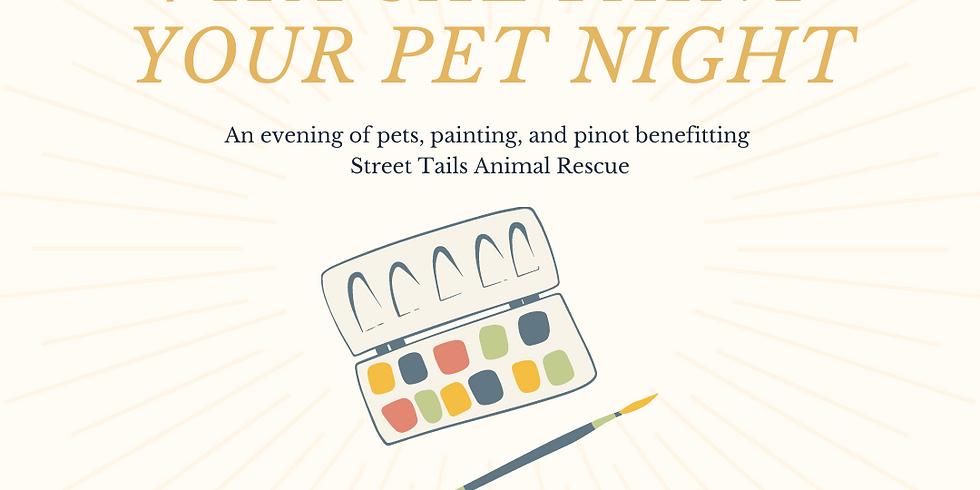 Paint Your Pet Night