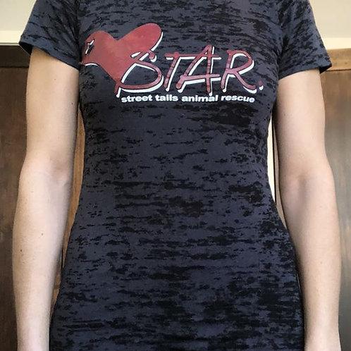 STAR Women's Burnout Shirt