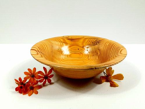 Rustic Decorative Yellow Pine bowl