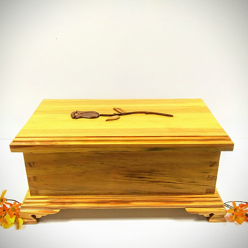 Yellow Pine Keepsake Box