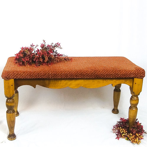 Golden Oak Bench