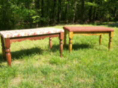 Turned benches..JPG