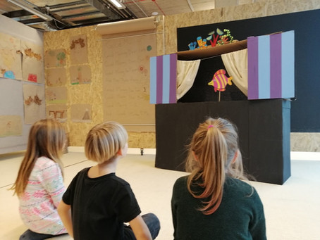 Building our own Puppet Theatre