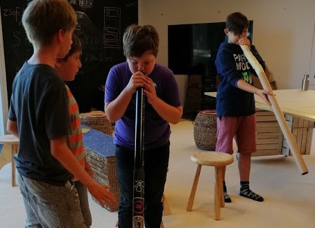 Creating Didgeridoos