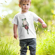 mockup-of-a-toddler-playing-in-the-grass