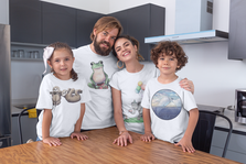 mockup-of-a-family-of-four-wearing-t-shi