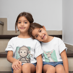 t-shirt-mockup-of-twin-girls-sitting-on-