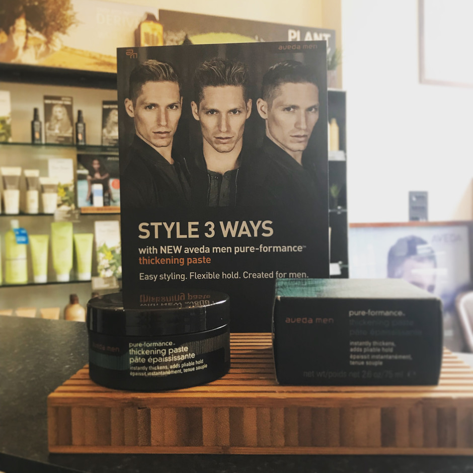 This ones for the guys!!        This 93% naturally derived* paste instantly thickens strands for a s