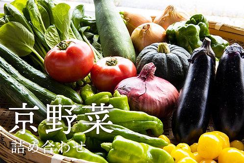 京野菜 15品目詰め合わせ【随時出荷可能】