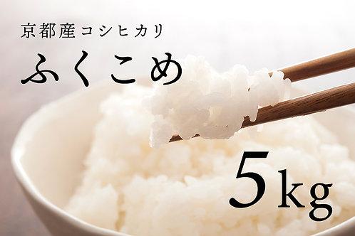 【絶賛出荷中】京都産コシヒカリ「ふくこめ」5kg(2020年度新米)