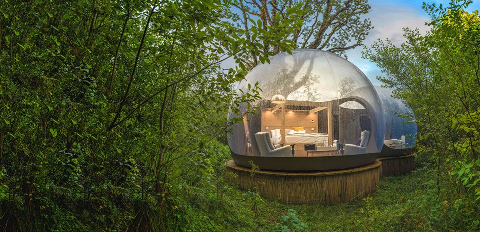 Premium Bubble Dome at Finn Lough