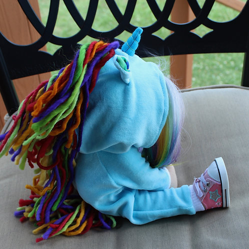 Rainbow Unicorn Costume Pattern - Imp, Sprite & Pixie