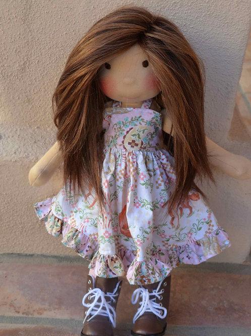 """18"""" Amberwing Doll Pattern"""